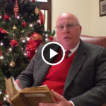 County Mayor Howard Bradley reading Christmas story slider