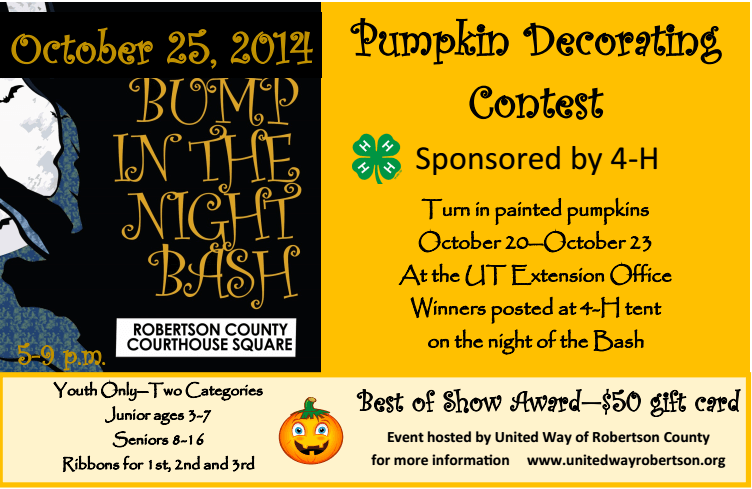 pumpkin contest 2014
