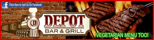 Depot ad steak and vegetarian