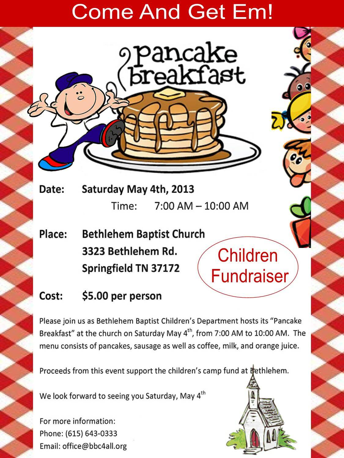 pancake breakfast fundraiser flyer template pancake breakfast flyer pancake breakfast bethlehem pancake breakfast fundraiser flyer template dimension n tk