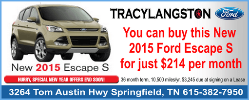 Tracy Langston Ford escape 511