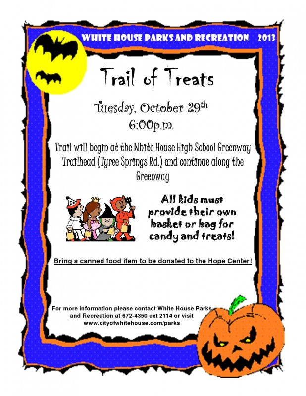 Trail Of treats Flyer