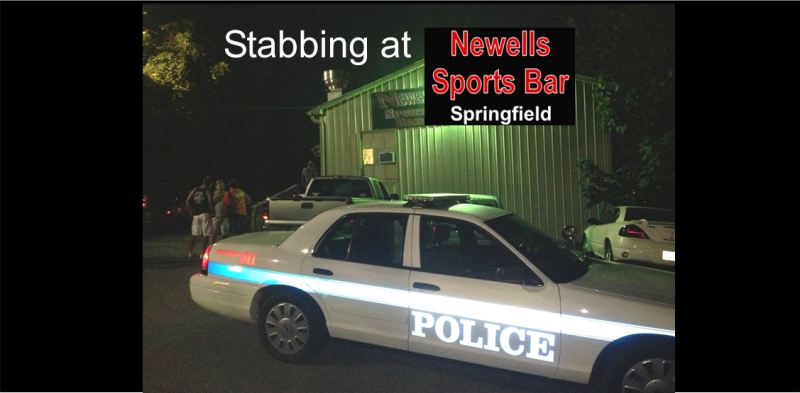 stabbing at Newells slider