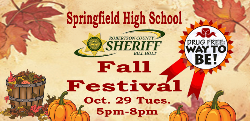 Springfield High fall fest slider
