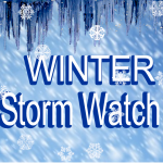Winter storm watch slider