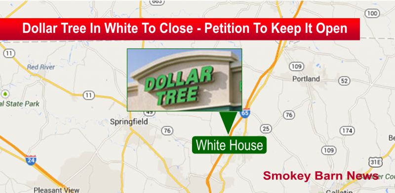 dollar tree in white house closing slider