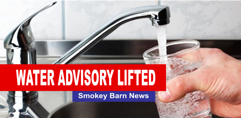 water advisory lifted slider