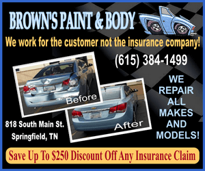 Browns paint body ad 300