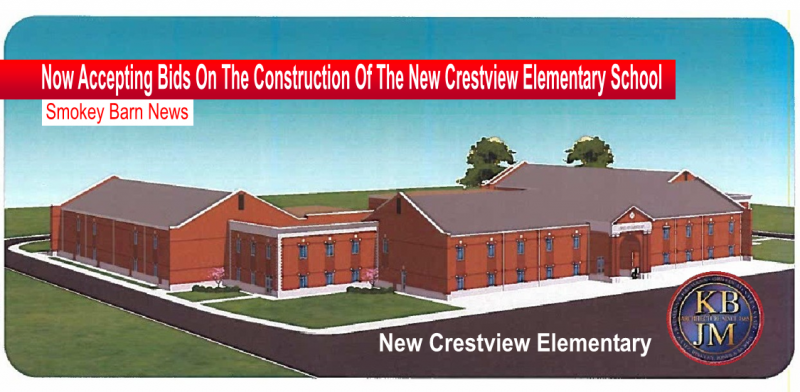 bids on construction of new school slider