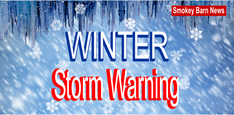 winter storm warning slider