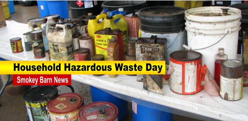 Hazardous Waste Day slider