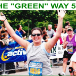Live the Green way 5k slider