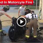 Man Burned In Motorcyle Fire slider