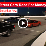 Street cars race slider