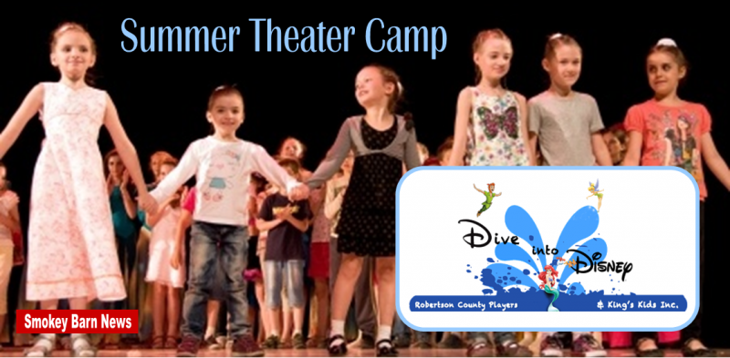 summer theater camp slider