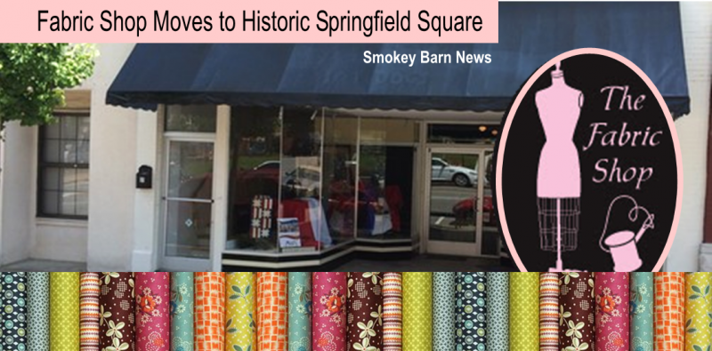 Fabric shop opens on square slider a