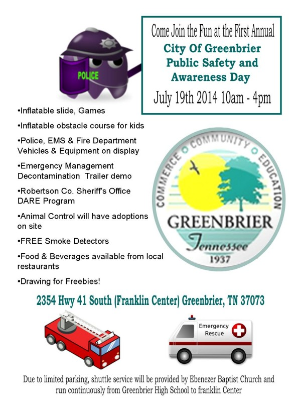 Greenbrier safety day