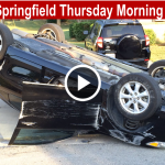 Rollover In Springfield Thursday Morning slider