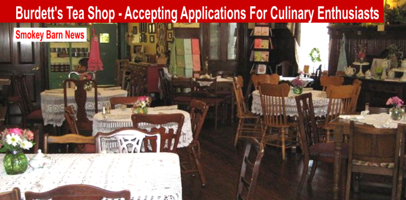 Burdett's accepting applications slider