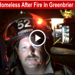 Two families homeless after fire slider
