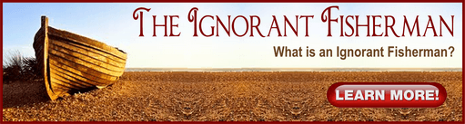 The Ignorant fisherman banner