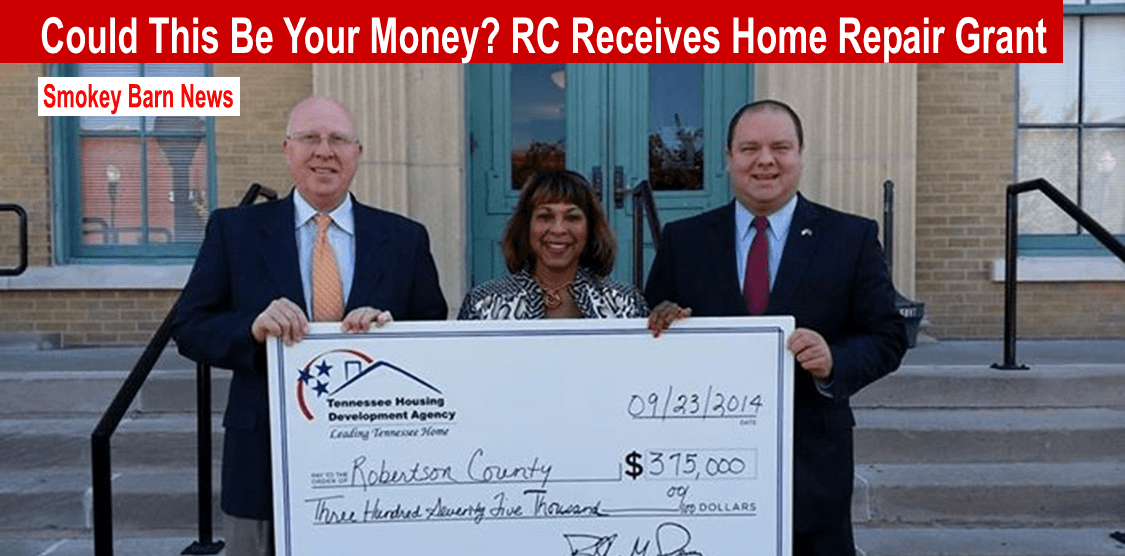 Could This Be Your Money? R.C. Receives Home Repairs Grants