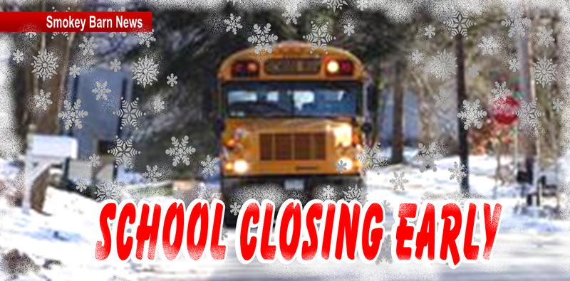 School closing early slider