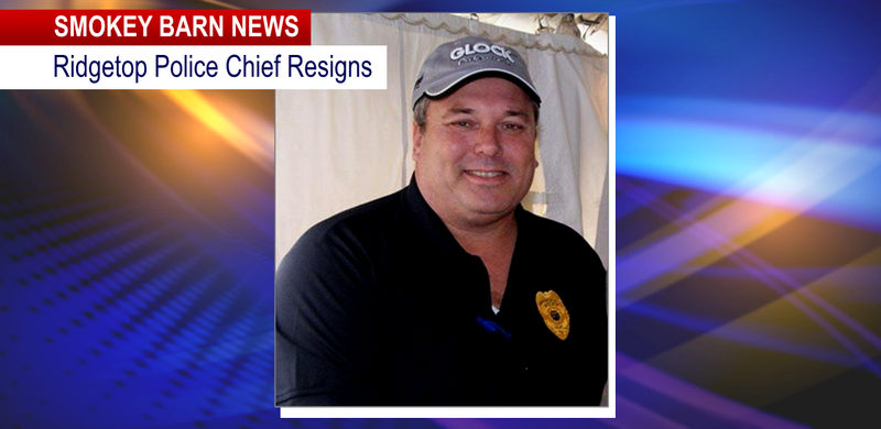 Ridgetop police chief Resigns slider