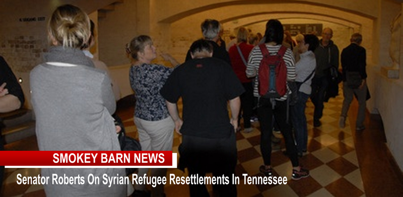 Senator Roberts - refugee resettlements in TN slider bb