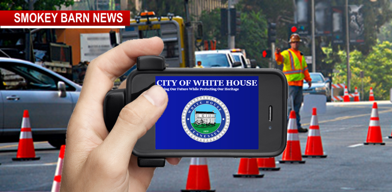 White house app slider